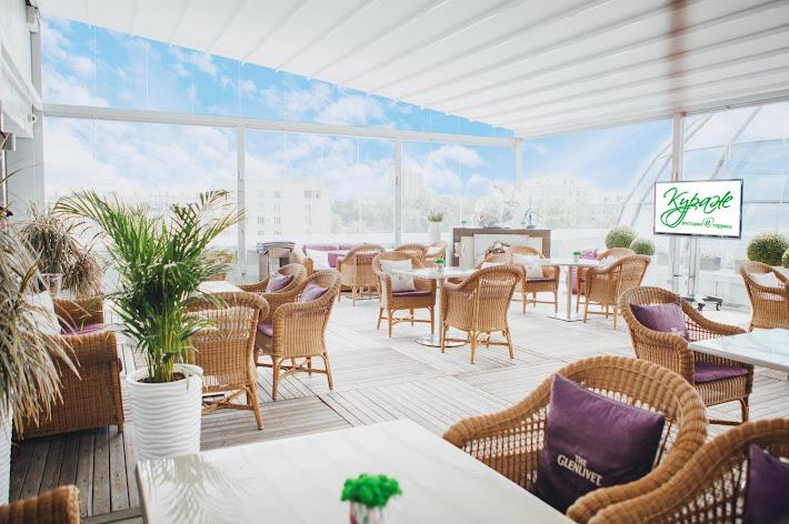 Фото №3 зала Летняя терраса ресторана «Кураж»