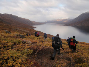 Photo: Greenland - Setting out on Day 8