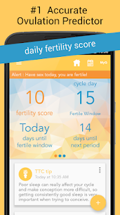 0 Ovia Ovulation & Period App screenshot
