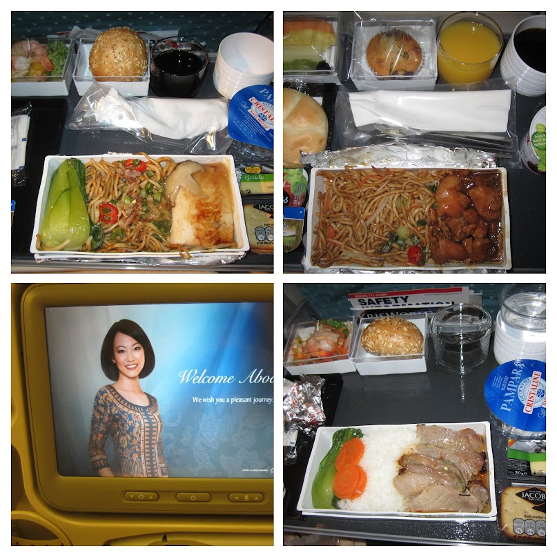 Singapore Airlines, food