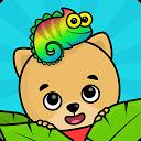 キッズ・幼児向けパズルと点つなぎ知育アプリ・動物塗り絵ゲーム