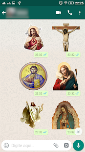 Figurinhas religiosas para Whatsapp Screenshot