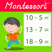 Montessori Subtraction Tables - Math for Kids