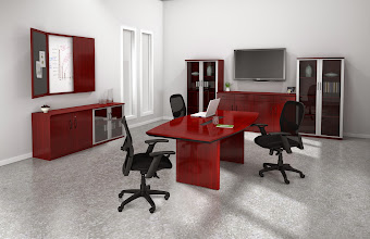 Photo: Corsica Conference Suite-Glass door cabinets