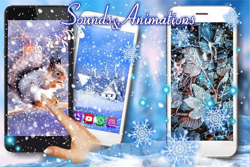 Winter Time Live Wallpaper 1.2 screenshots 2