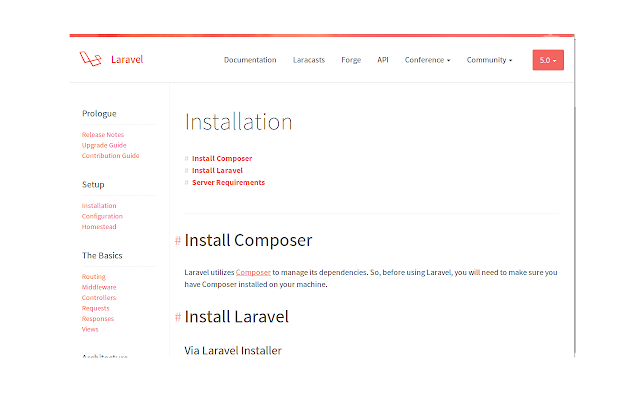Laravel Offline Documentations