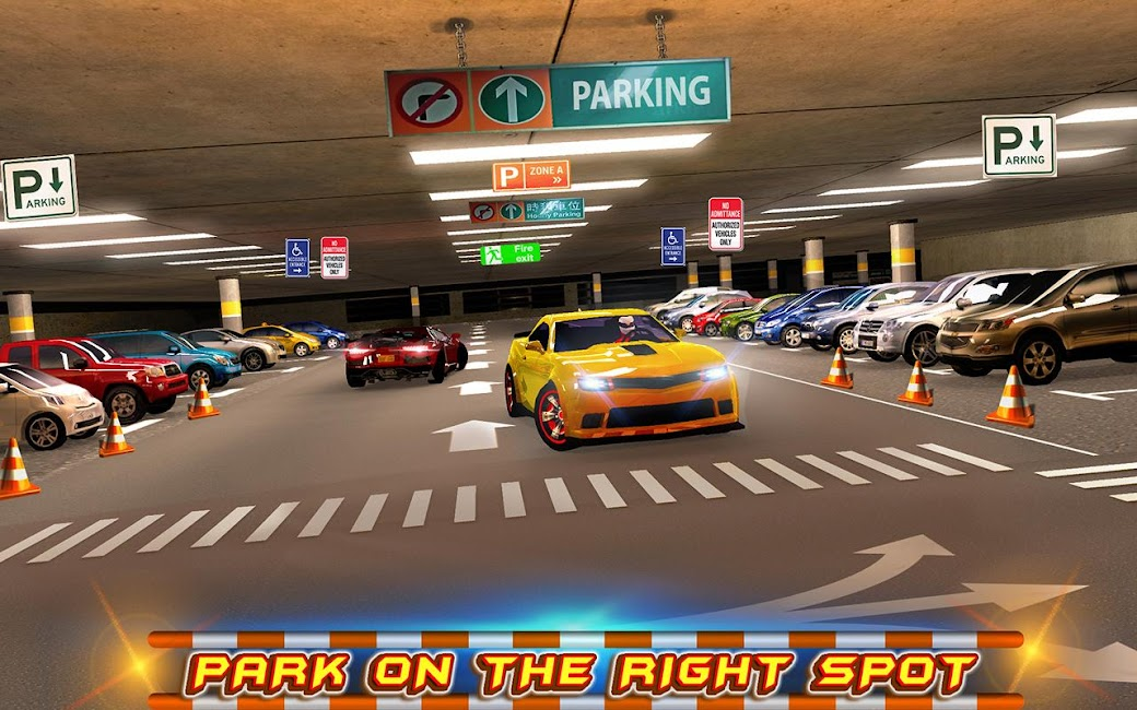 #8. Multi-storey Car Parking 3D (Android)