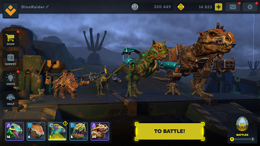 Dino Squad: TPS Dinosaur Shooter modavailable screenshots 15