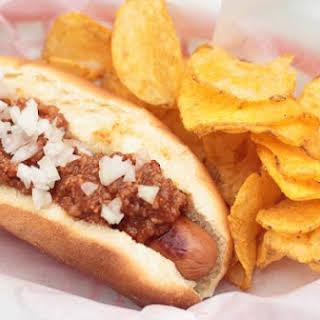 Homemade Hot Dog Chili.