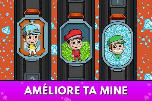 Code Triche Idle Miner Tycoon - Manager de Mine APK MOD screenshots 3
