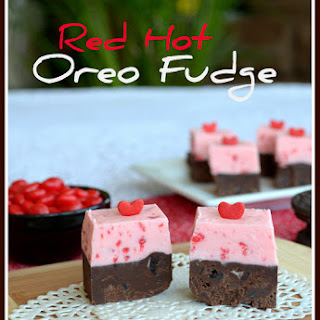 Red Hot Oreo Fudge