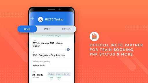 Goibibo - Hotel Car Flight IRCTC Train Bus Booking screenshot 6