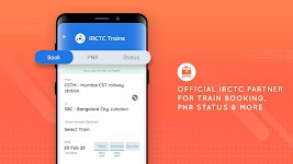 screenshot of Goibibo - Hotel Car Flight IRCTC Train Bus Booking