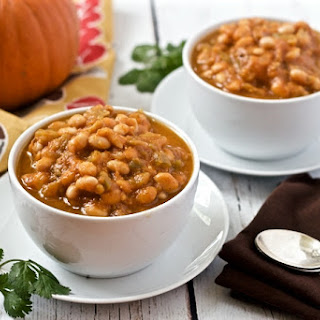 Pumpkin White Bean Chili.