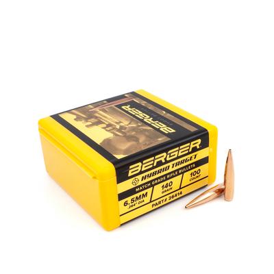 Berger Hybrid Target 6,5mm 140gr 100st