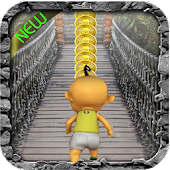 Upin run jungle adventure