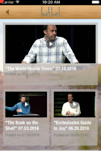 Bethel Church- screenshot thumbnail