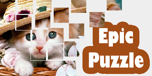 Cute Kitty Epic Puzzle