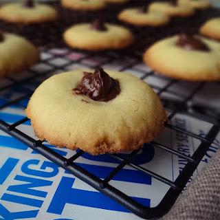 Nutella Shortbread Cookies Recipe