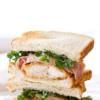 Chicken Cordon Bleu Sandwich.