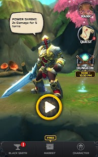 Flip Warrior: Nonstop Jump RPG Screenshot