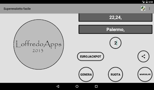 superenalotto facile- miniatura screenshot