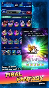 FINAL FANTASY BRAVE EXVIUS MOD Apk 1.3.0 (High Damage) 5