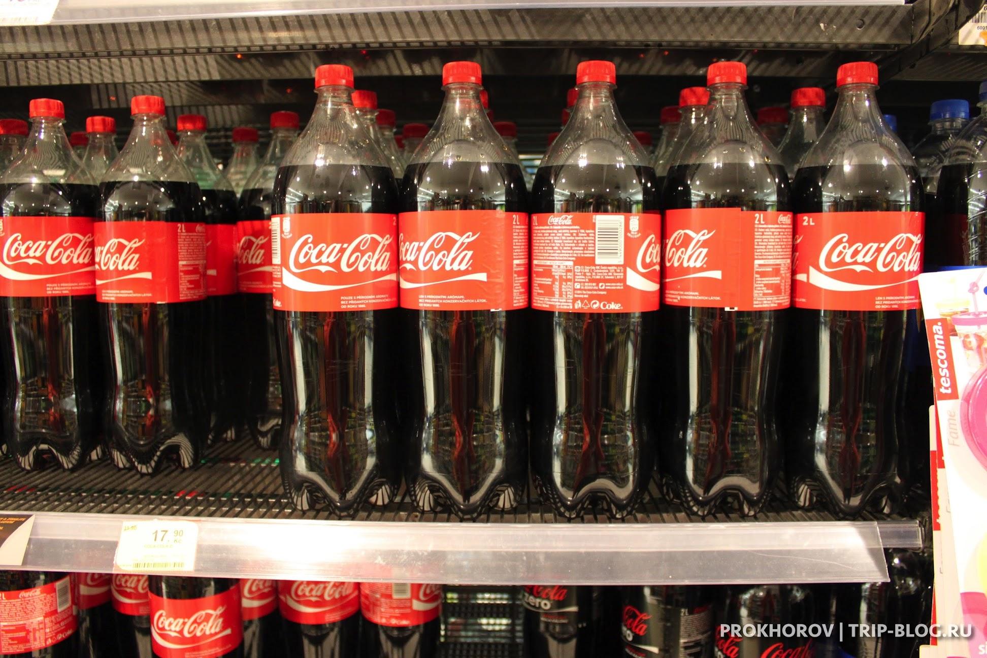 Coca-Cola Прага