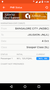 Indian Train Locator- screenshot thumbnail