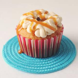 SHORTCUT Salted Caramel Apple Pie Cupcakes.