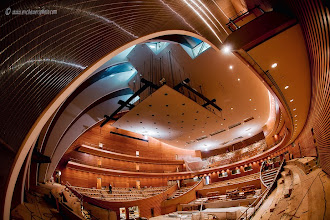 Photo: Kauffman Center for the Performing Arts Interior - Helzberg Hall in October 2010 during the construction process.