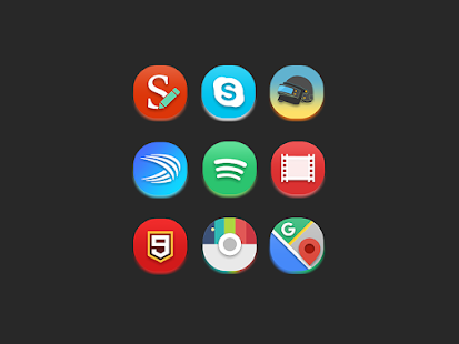 Glow - Icon Pack Screenshot