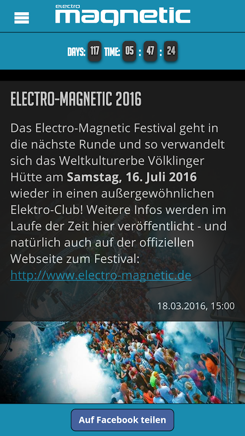 Electro-Magnetic Festival- screenshot