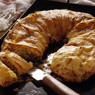 Croatian Savory Cabbage Strudel (Strudla s Kupusom).