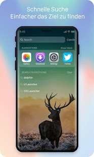X Launcher Prime: PhoneX Thema, IOS 11 Launcher Screenshot