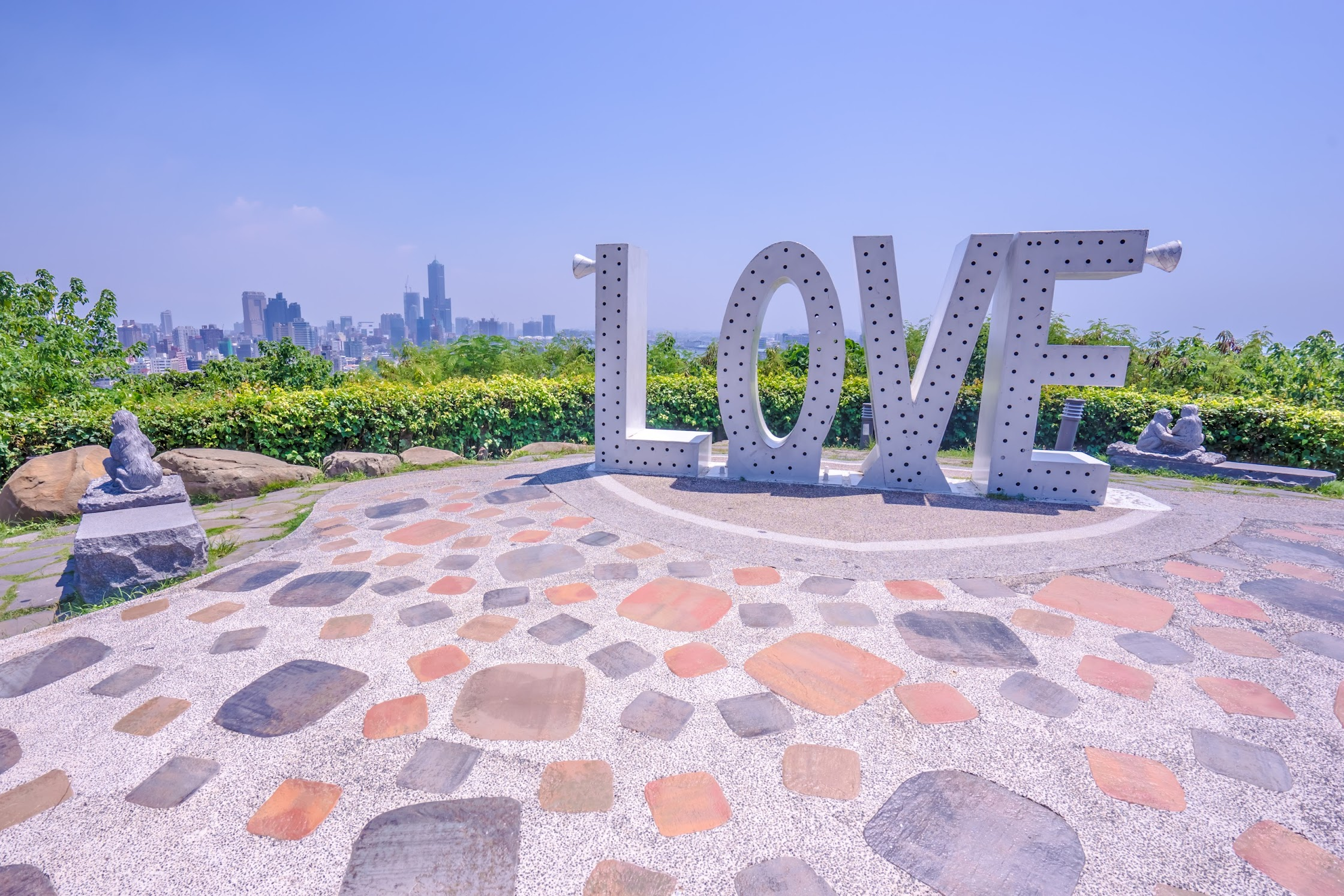 Kaohsiung Shoushan LOVE Valentine's Lookout1