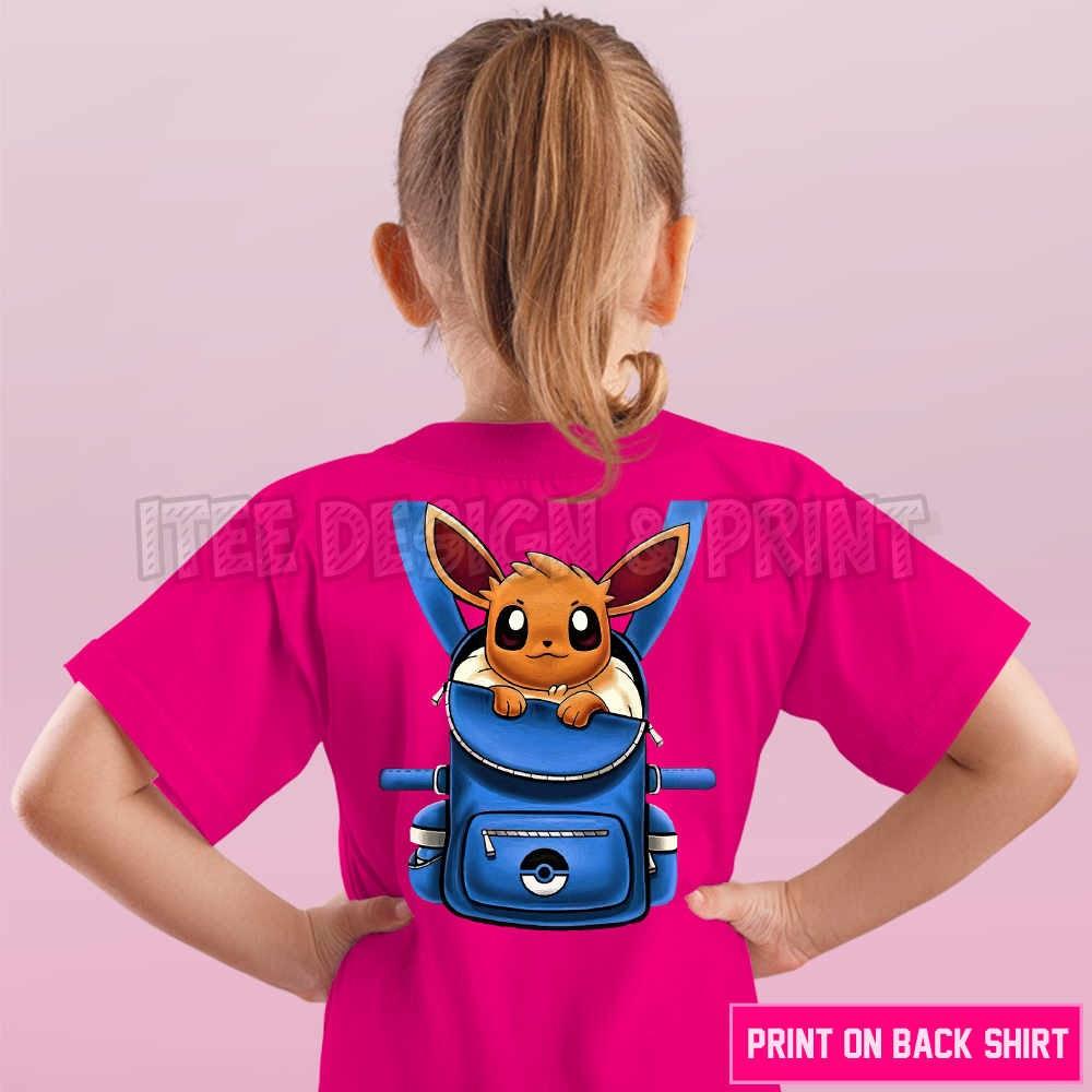 Eevee Pokemon Backpack 19