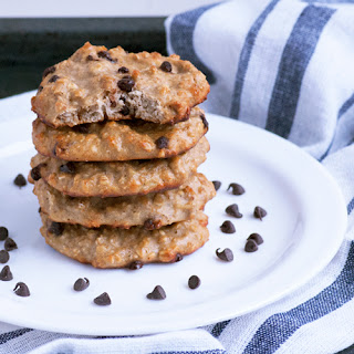 15 Minute+5 Ingredient High Protein Cookies