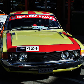 Rally Car by Sarah Harding - Novices Only Sports ( car, racing, outdoors, novices only, sport,  )