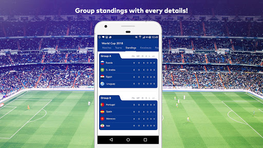 World Cup 2018 in Russia - Live Score, Match, News 6.0 screenshots 5