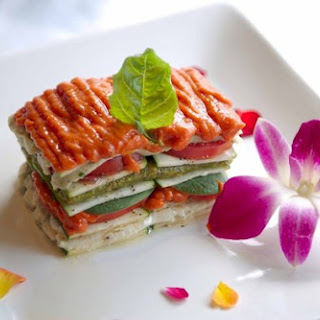 Diet Vegetable Lasagna With Avocado