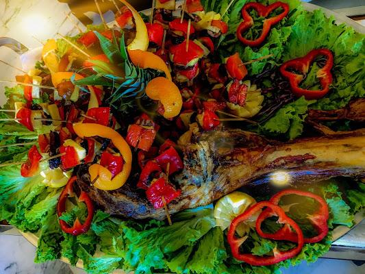 Coscio di Vitella immerso nei colori