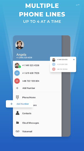 Phone2: Second Phone Number - Calling & Texting Apk 2