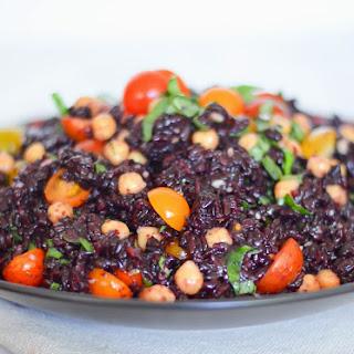 Bruschetta Black Rice Salad
