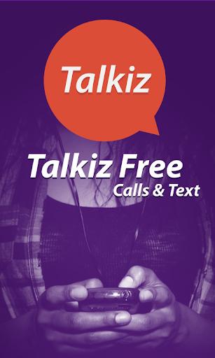 Talkiz無料通話&テキスト
