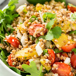 Roasted Buckwheat Salad Recipe