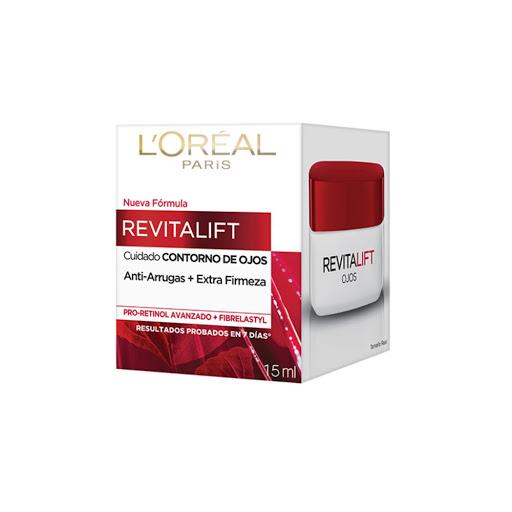 Crema FacialL'OrealRevitalift Contorno Ojos 15ml