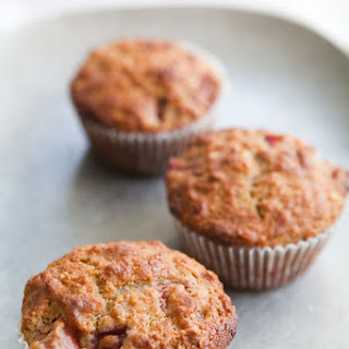 Strawberry Oatmeal Muffins.