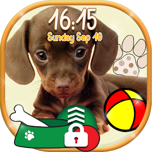 Cute Puppy Lock Screen Wallpaper ? Little Doggy (app)