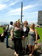 Photo: Steinbrueck Park at Pike Place Market. Brass band and totem pole in background.